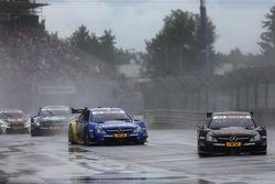 Pascal Wehrlein, Mercedes AMG DTM-Team HWA DTM Mercedes AMG C-Coup_à and Gary Paffett, Mercedes AMG DTM-Team HWA DTM Mercedes AMG C-Coup_à