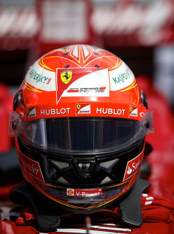 Kimi Raikonnen's Helmet