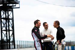 Franck Montagny, Sebastien Buemi and Stéphane Sarrazin