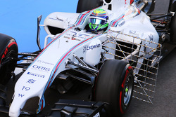 Felipe Massa, Williams FW36 running sensor equipment