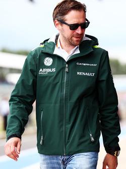 F1: Christian Albers, Caterham F1 Team, Team Manager