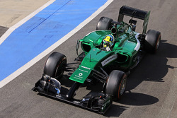 F1: Julian Leal, Caterham CT05 Test Driver