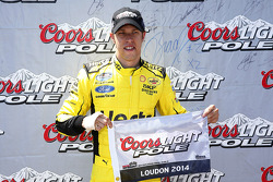 Brad Keselowski wins the pole