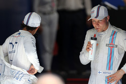 Third place Felipe Massa, Williams F1 Team and second place Valtteri Bottas, Williams F1 Team
