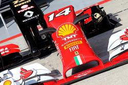 Scuderia Ferrari and Lotus F1 Team