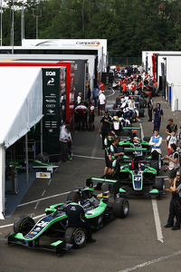 The GP3 paddock