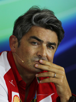 F1: Marco Mattiacci, Ferrari Team Principal in the FIA Press Conference