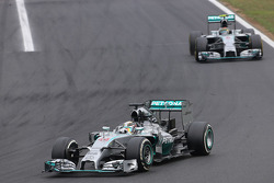 F1: Lewis Hamilton, Mercedes AMG F1 Team and Nico Rosberg, Mercedes AMG F1 Team