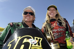 NHRA: John Force and Courtney Force