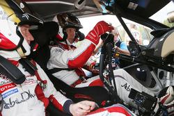 WRC: Kris Meeke and Paul Nagle, Citroën DS3 WRC, Citroën Total Abu Dhabi World Rally Team