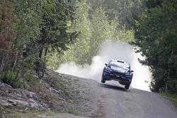 WRC: Elfyn Evans and Daniel Barrit, M-Sport Ford Fiesta WRC