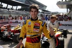 Race winner Antonio Giovinazzi