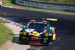 #8 Haribo Racing Team, Porsche 911 GT3 R: Jörg Bergmeister, Mike Stursberg