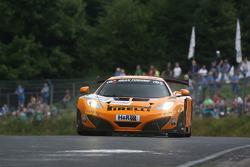 #40 Dörr Motorsport, McLaren MP4-12C GT3: Kevin Estre, Nick Catsburg, Rudi Adams, Arno Klasen