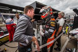 EUROF3: Jos Verstappen with Max Verstappen, Van Amersfoort Racing Dallara F312 Volkswagen