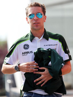 Robin Frijns, Caterham Test and Reserve Driver