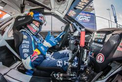 RALLYCROSS: #27 Hyundai / Rhys Millen Racing Hyundai Veloster: Emma Gilmour
