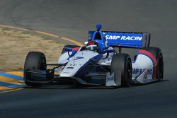 INDYCAR: Mikhail Aleshin, Schmidt Peterson Hamilton Motorsports Honda