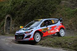 Bryan Bouffier and Xavier Panseri, Hyundai i20 WRC, Hyundai Motorsport