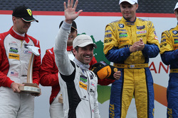 3rd place- #27 Dempsey Racing Porsche 911 GT America: Patrick Dempsey