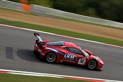 #18 FF Corse Ferrari 458 Italia GT3: Gary Eastwood, Adam Carroll