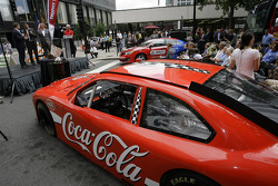 Brad Keselowski, Team Penske Ford visits downtown Charlotte as part of Chase across North America