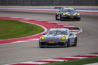 #44 Mangus Racing Porsche 911 GT America: John Potter, Andy Lally