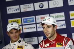 Marco Wittmann, BMW Team RMG BMW M4 DTM, Mike Rockenfeller, Audi Sport Team Phoenix Audi RS 5 DTM