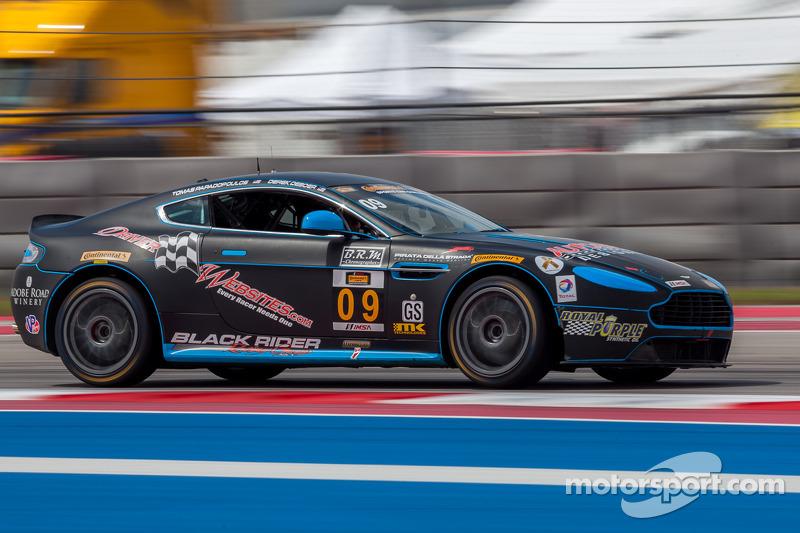 #09 TRG-AMR Aston Martin GT4: Tom Papadopoulos, Kyle ...