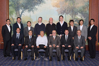 Group photo of the third meeting of the DTM - Super GT steering committee