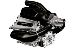 Honda Formula One power unit presentation