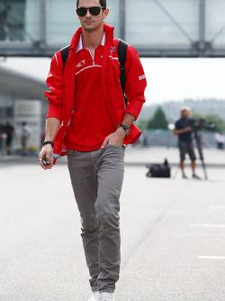 Alexander Rossi, Marussia F1 Team Reserve Driver