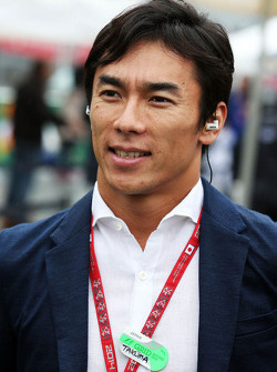 Takuma Sato, on the grid