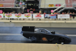 Matt Hagan tests the new body style Dodge Avenger
