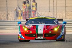 #81 AF Corse Ferrari 458 Italia: Stephen, Michele Rugolo, Andrea Bertolini
