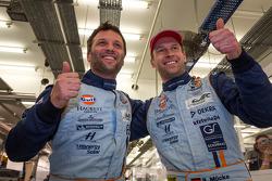 LMGTE pole winners Darren Turner and Stefan Mücke