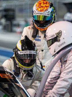 Driver switch for Richard Lietz and Jörg Bergmeister