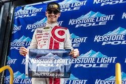 Pole winner Kyle Larson