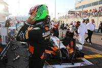 Sergio Perez, Sahara Force India F1 VJM07 on the grid