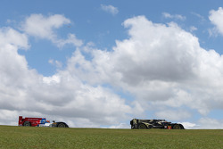 #27 SMP Racing Oreca 03 - Nissan: Serguey Zlobin, Nicolas Minassian, Maurizio Mediani, #9 Lotus CLM P1/01 - AER: Lucas Auer, James Rossiter, Pierre Kaffer