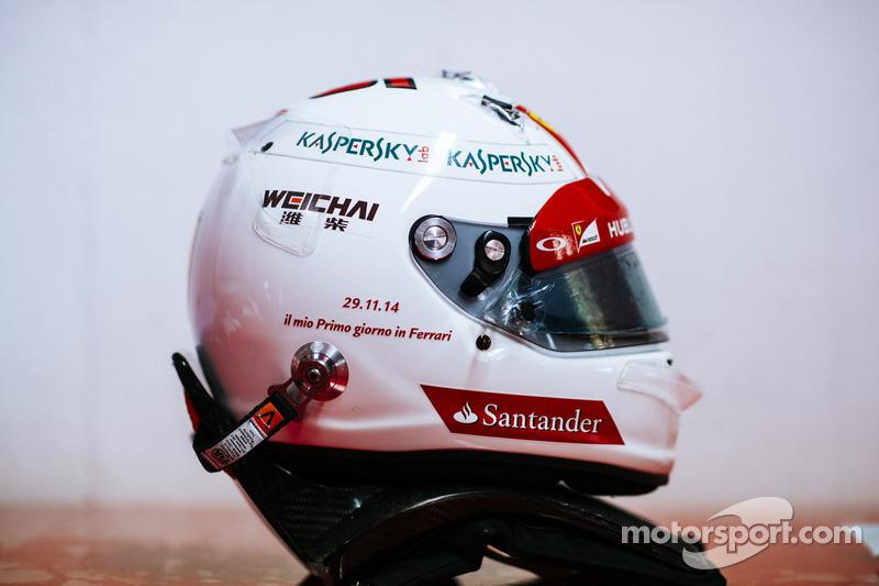 Sebastian Vettel Helmet 2014 Sebastian Vettel's hel...