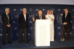 FIA president Jean Todt, FIA annual general assembly at the St. Regis hotel in Qatar