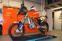 KTM preparations for the 2015 Dakar