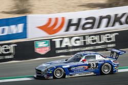 #33 SPS automotive-performance Mercedes SLS AMG GT3: Valentin Pierburg, Lance David Arnold, Patrick Assenheimer, Alex Müller