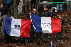 Sébastien Loeb and Sébastien Ogier fans
