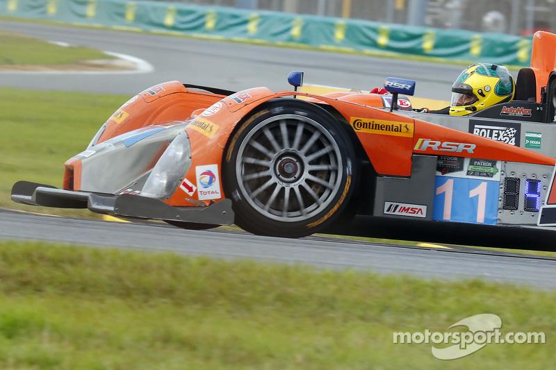 #11 RSR Racing Oreca FLM09 Chevrolet: Chris Cumming, Bruno Junqueira, Jack Hawksworth, Gustavo Menezes