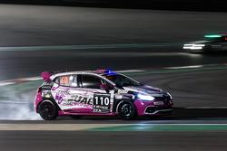 #110 Autosport GP Renault Clio IV Cup: Benoit Carreras, Franck Traynard, Jérôme Thiery, Antoine Boulay