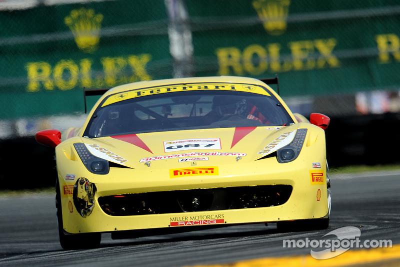 #087 Miller Motorcars Ferrari 458: Doug Peterson