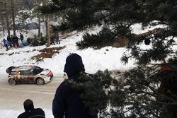 Mads Ostberg和Jonas Andersson, 雪铁龙 DS3 WRC, 雪铁龙-道达尔阿布扎比世界拉力车队