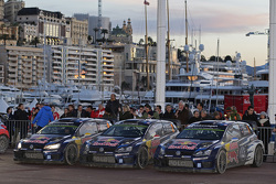 1-2-3 finish for Volkswagen Motorsport